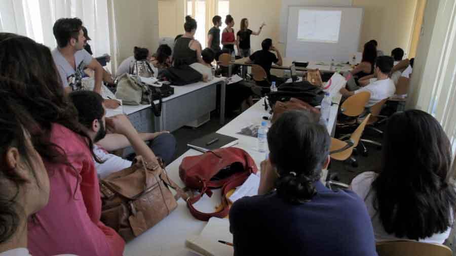 Παρουσιάσεις στα πλαίσια του φοιτητικού εργαστηρίου, © Χ. Χαραλάμπους