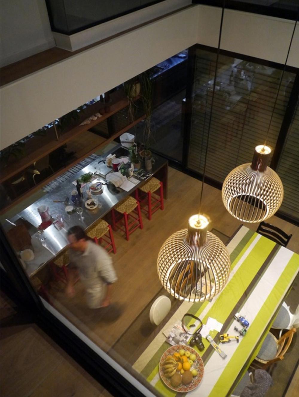 """Φωτιστικά σώματα """"design"""", © Duvall-Furnier Architects"""