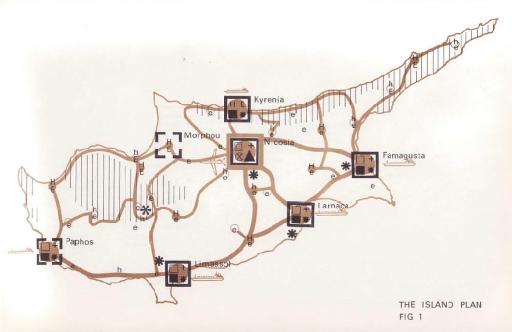 Βασική δομή του Σχεδίου για τη Νήσο, εικόνα 1, Σχέδιο για τη Νήσο, 1972