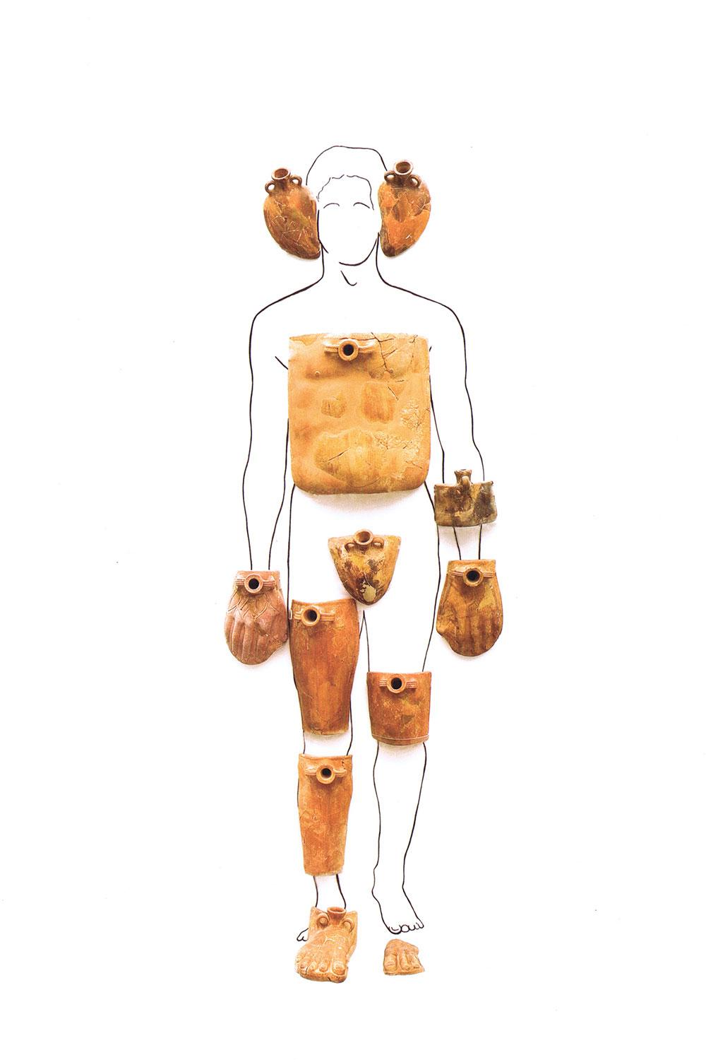 Οι κεραμικές θερμοφόρες της Πάφου. Φωτ. Ανδρέας Κούτας