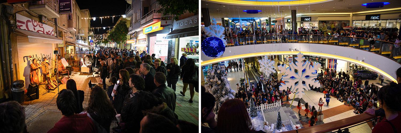 Οδός Λήδρας Vs Mall of Cyprus, © Χάρης Σολωμού