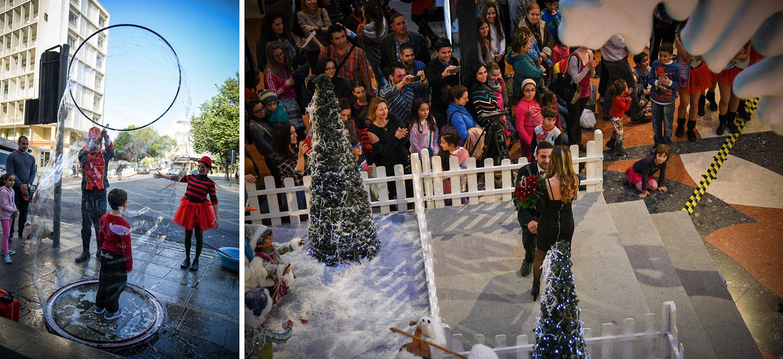 Λεωφόρος Μακαρίου (Pop Up Festival) Vs Mall of Cyprus, © Χάρης Σολωμού