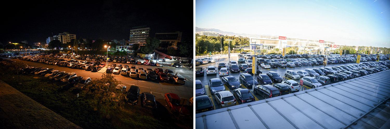 Τάφρος Ντ' Αβίλα (χώρος στάθμευσης) Vs Mall of Cyprus (χώρος στάθμευσης), © Χάρης Σολωμού
