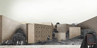 Runner Up for:  'The Bamiyan Cultural Centre_Design Competition', Afghanistan