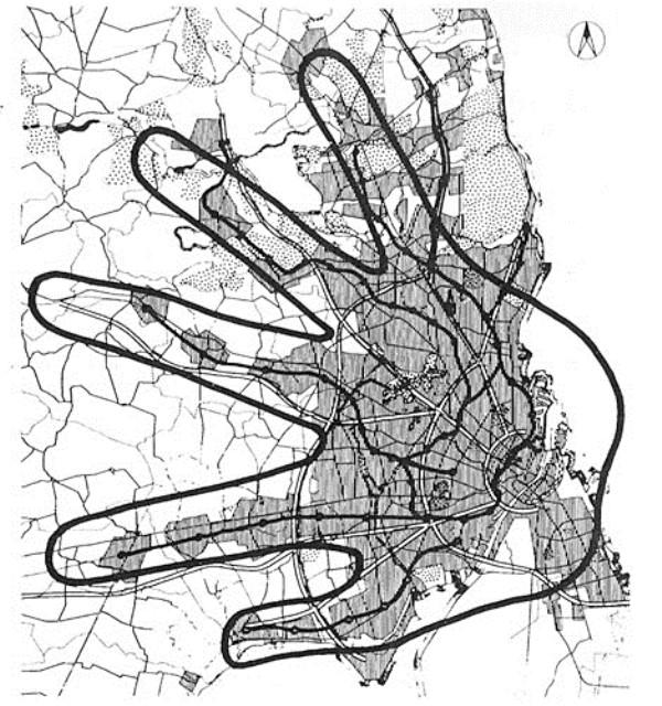 Το πολεοδομικό εργαλείο 'Fingerplan' – www.slideshare.net