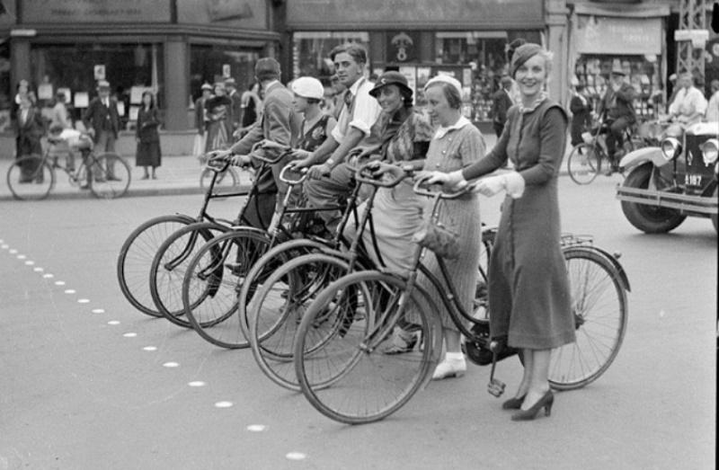Η στενή σχέση Κοπεγχάγης με το ποδήλατο ως μέσο μεταφοράς άρχισε από πολύ νωρίς – www. historiful.wordpress.com