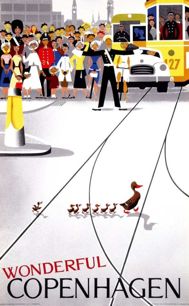 Περιβαλλοντική ευαισθησία εικονογραφημένη από τον Viggo Vagnby – www.liveauctioneers.com