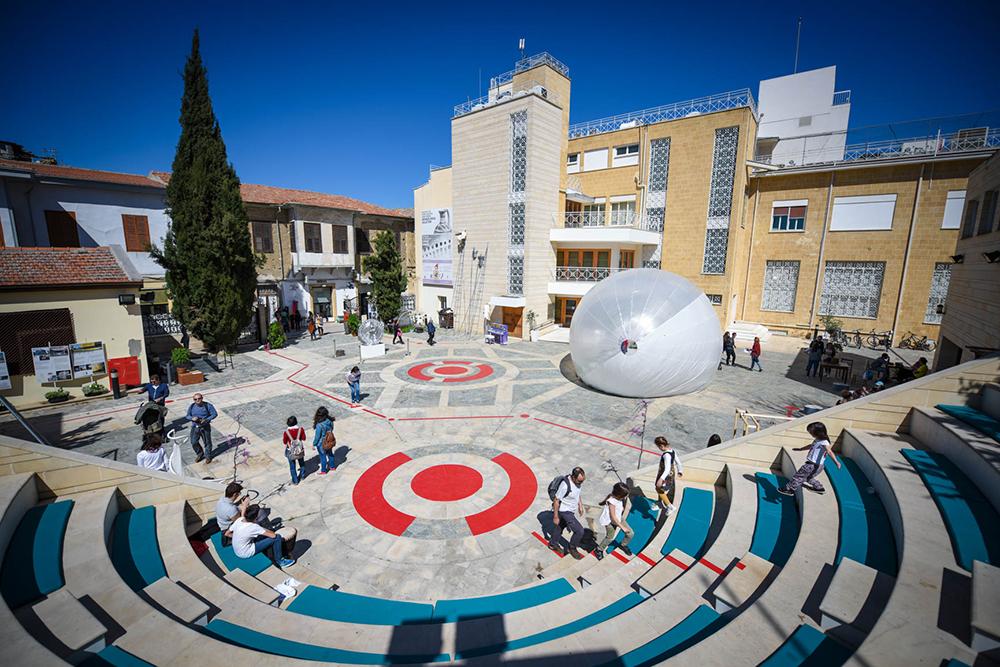 ΦουσκόPolis, Πολιτιστικό Ίδρυμα Τράπεζας Κύπρου, Λευκωσία, 2015 © Χάρης Σολωμού