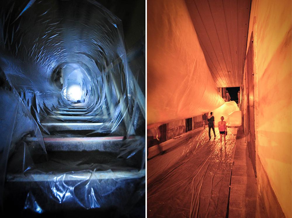 Inflating the Public, Hotel Ypnos/Στοά Ταρσή, Λευκωσία, 2015 © Χάρης Σολωμού