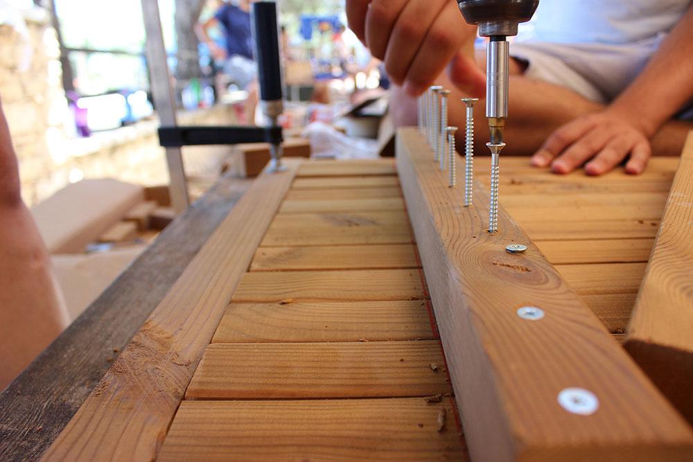 Διαδικασία σύνδεσης & συναρμολόγησης κατασκευής Γ © Ραφαέλα Μωυσέως