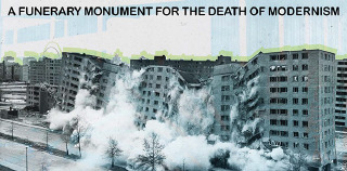 Competition for Students: MODERNISM MEMORIAL – a funerary monument for the death of modernism