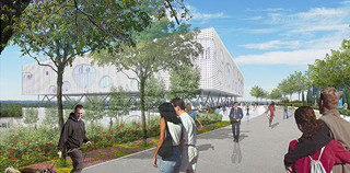 HONOURABLE MENTION – Architectural Competition for the Medical School on Campus, University of Cyprus
