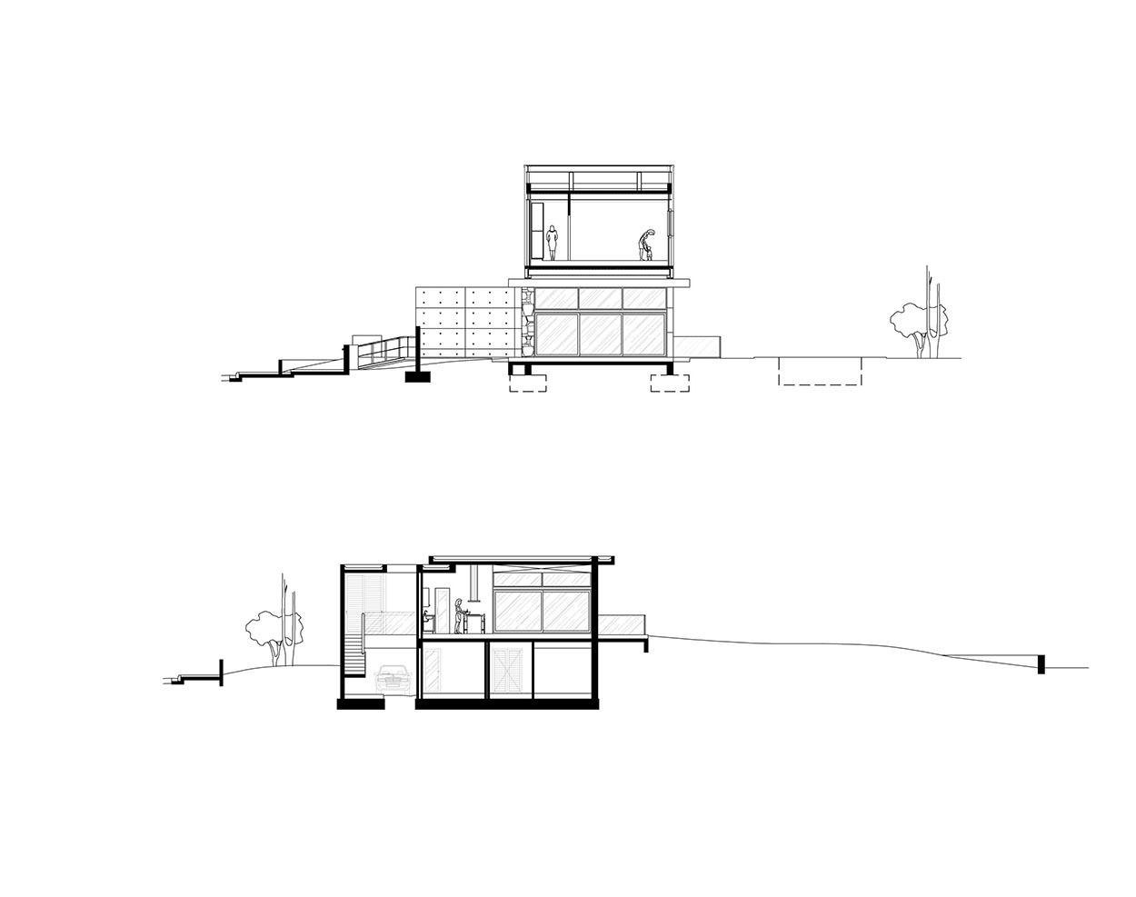 Τομές Β-Β και Γ-Γ, © Αρμεύτης & Συνεργάτες