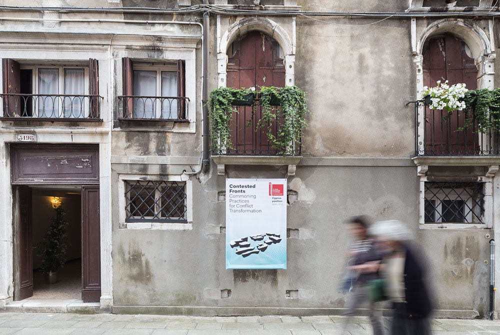 Contested Fronts Exhibition at Palazzo Malipiero, 2nd floor_© photo by DSL studio