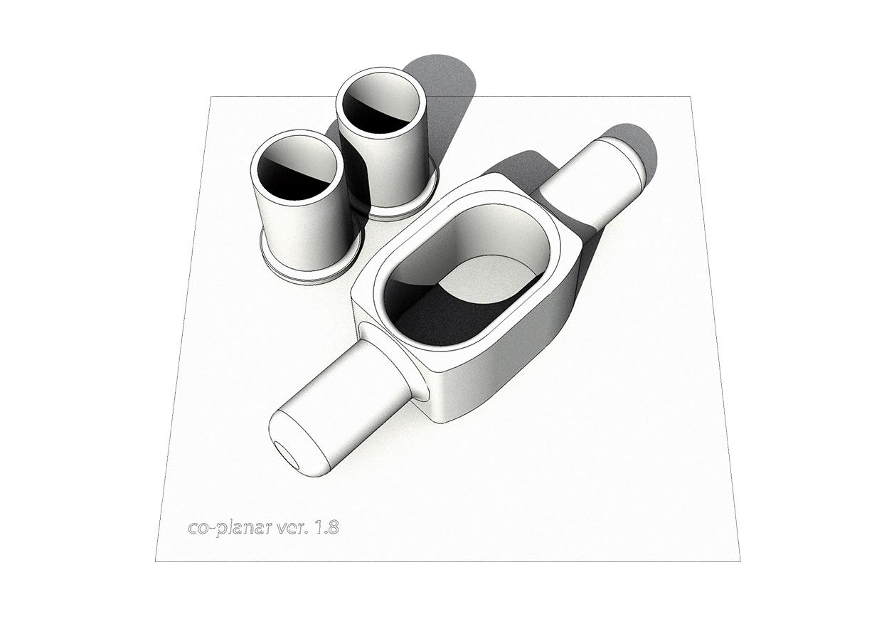 3D_printed_coplanar_ver.1.8, © 'Halo Sukkah' team