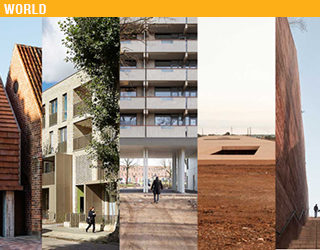 Five finalists for the EU Mies Award 2017