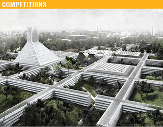 "The New Cyprus Museum Competition Entry- ""Walled Gardens of Nicosia"""